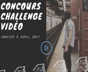 affiche du concours challenge vidéo ingénieurs 2000